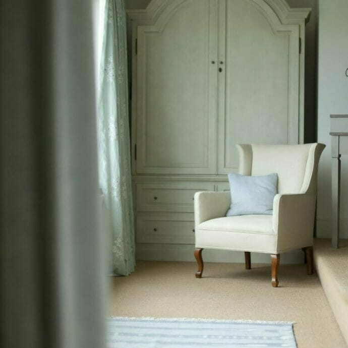 Mylor Private Residence Bespoke Chair  Camellia Interiors