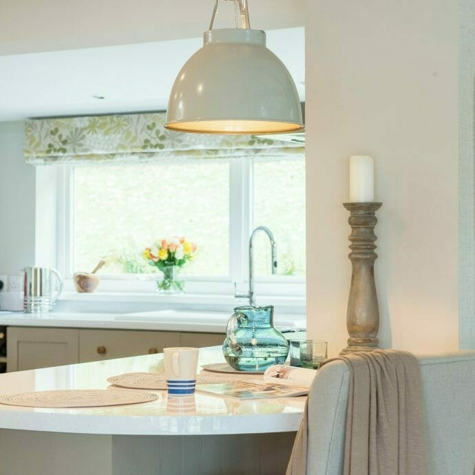 Mylor Private Residence- Kitchen Island Camellia Interiors