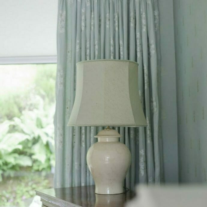 Mylor Private Residence Triple Pinch Pleat Curtains Camellia Interiors