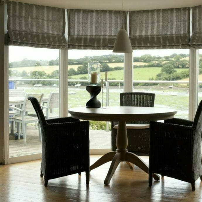 Mylor private home roman blinds camellia interiors
