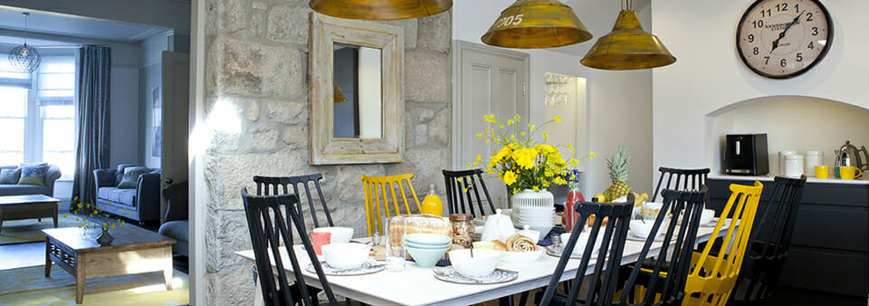 Camellia's Cornish Townhouse project features on ACHICA Living