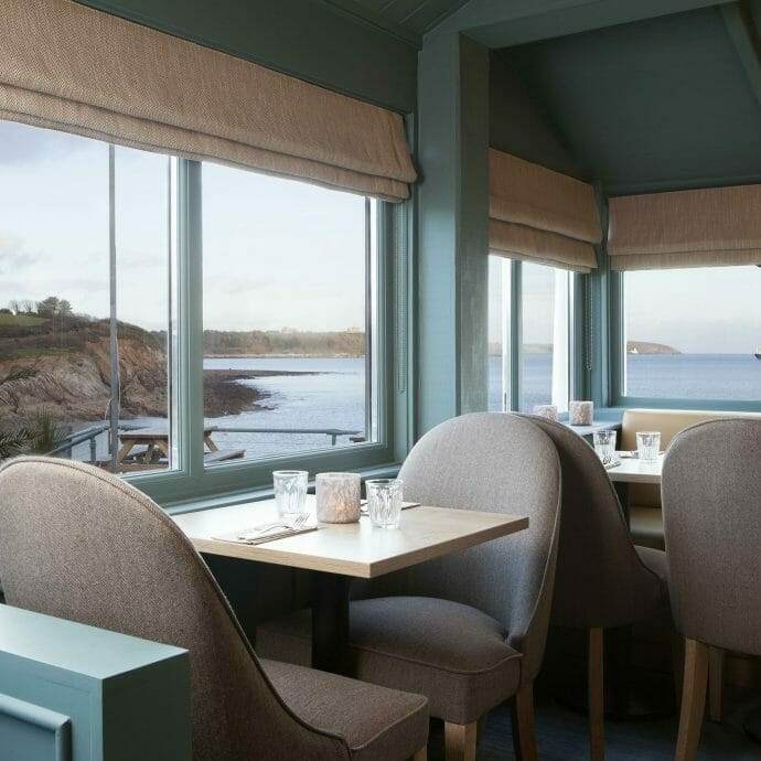 Hooked on the rocks restaurant interiors for Camellia Interior Design